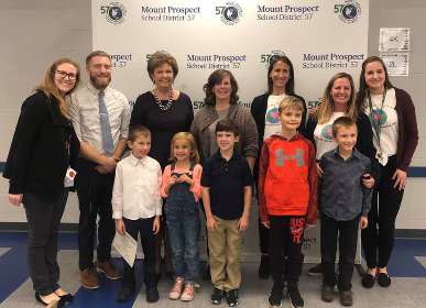 Westbrook Kindness Ambassadors honored at Board meeting