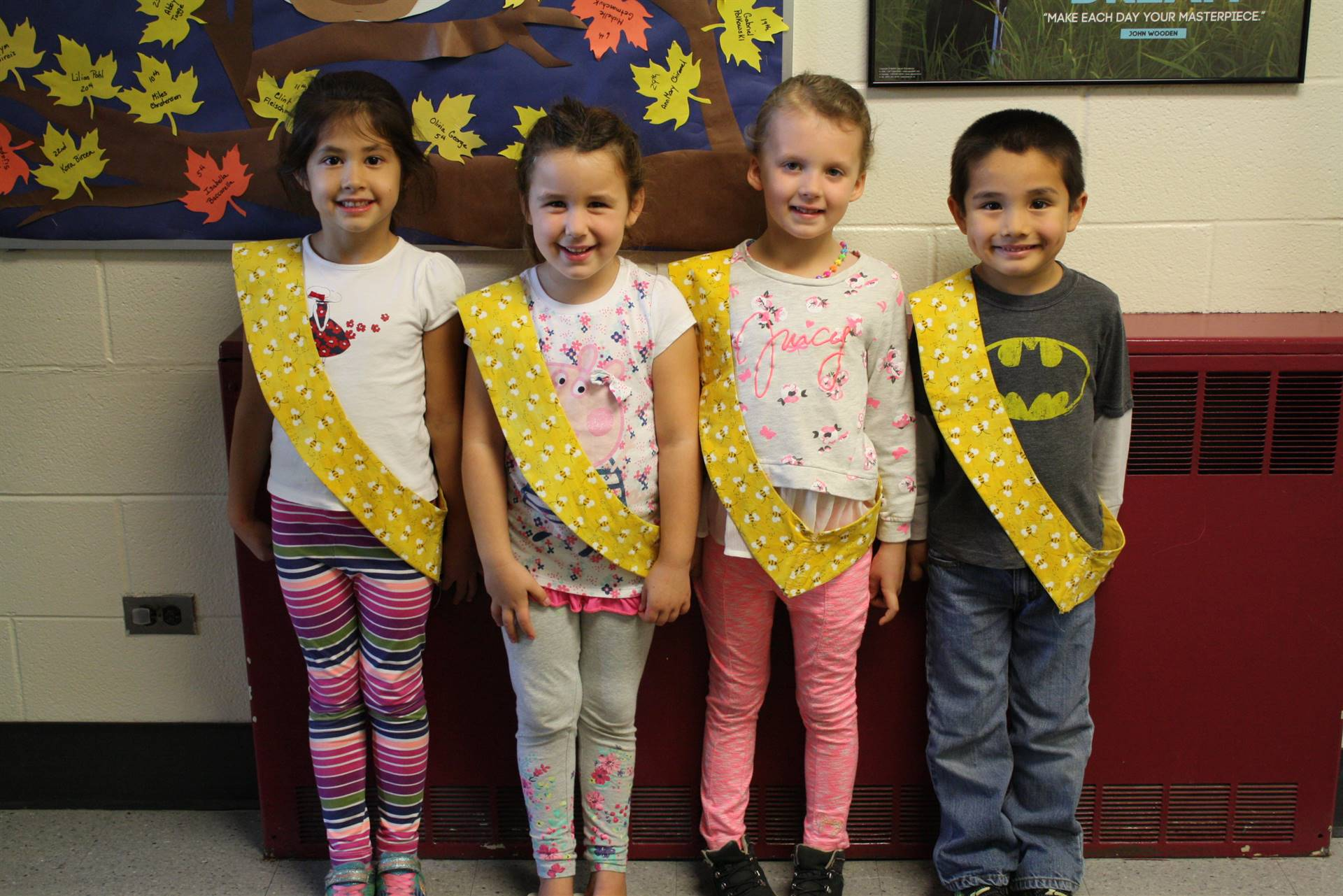 Bee Sash Winners - 10-13-2017