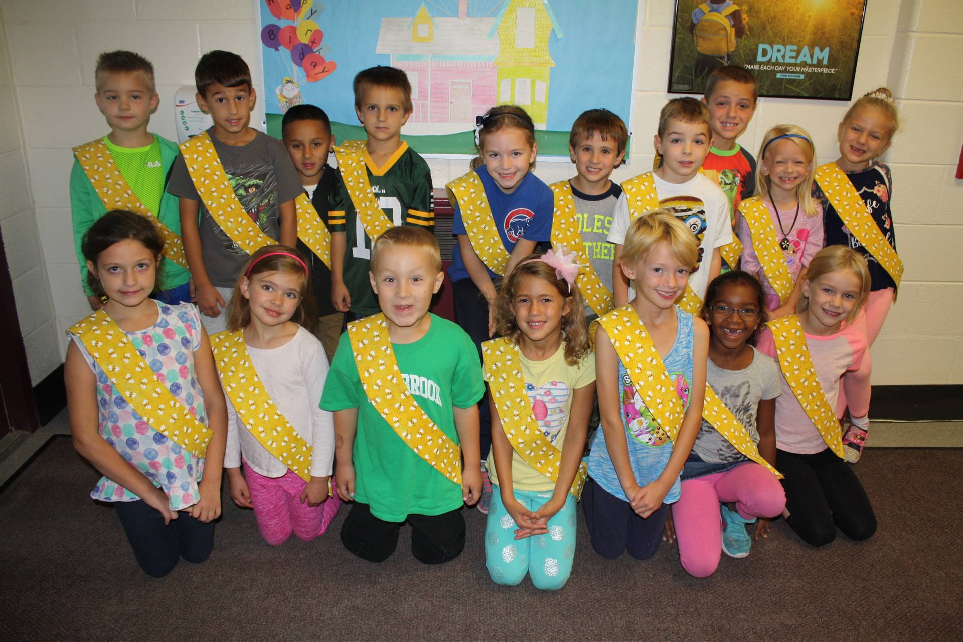 Bee Sash Winners - 9-29-2017
