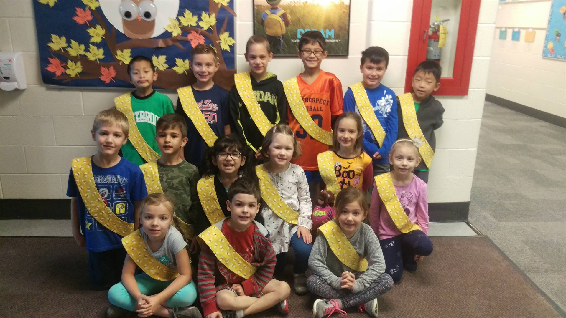 Bee Sash Winners - 10-20-2017
