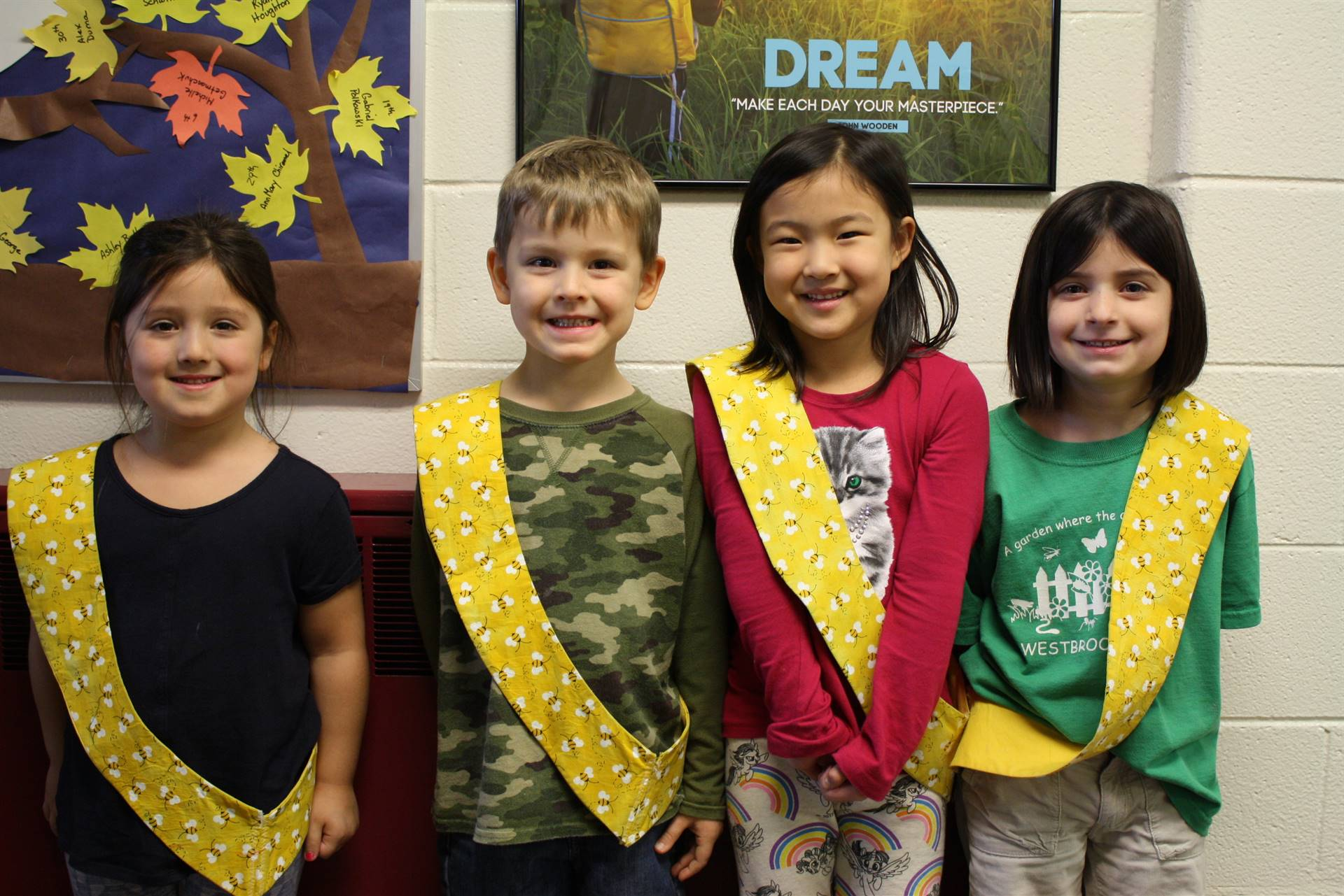 Bee Sash Winners - 10-27-2017