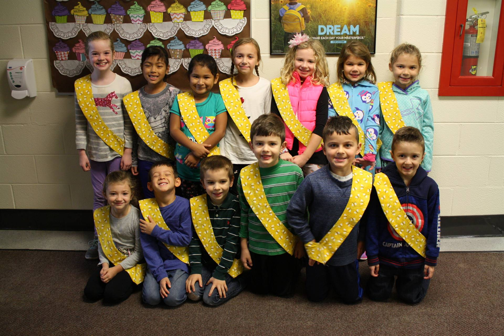 Bee Sash Winners - 11/3/2017