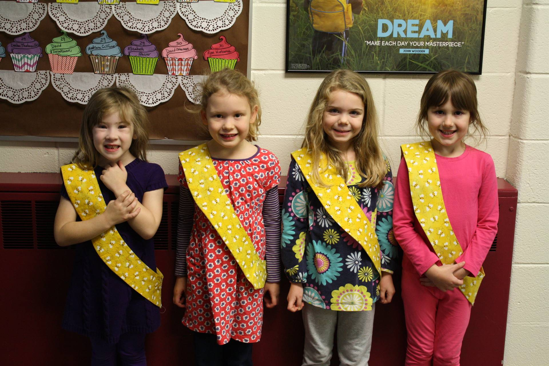 Bee Sash Winners - 11/17/2017