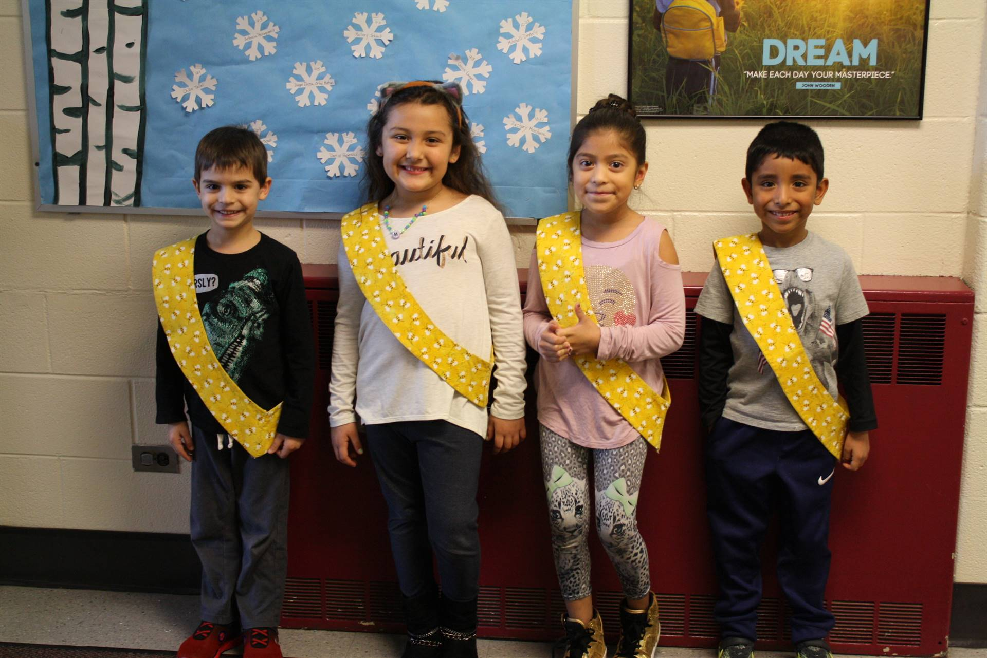 Bee Sash Winners - 12/1/2017