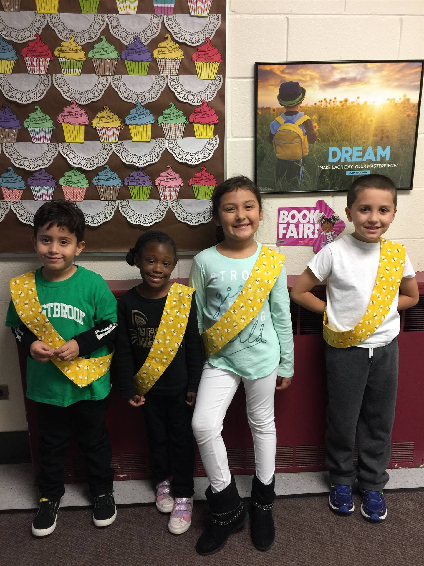 Bee Sash Winners - 11/11/2017