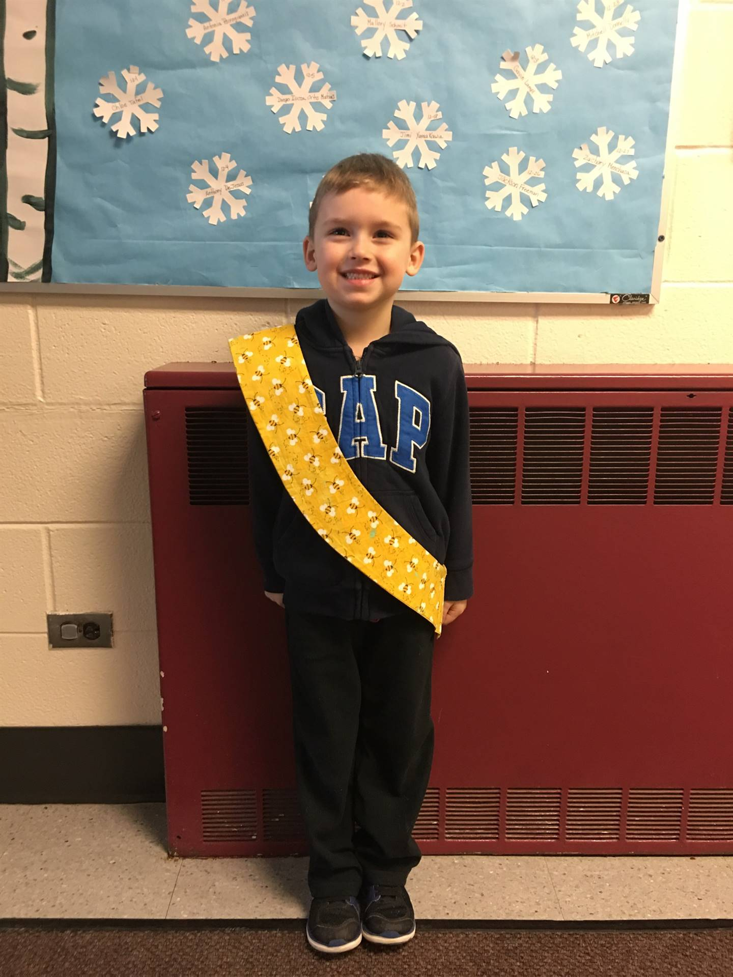Bee Sash Winners - 12/15/2017