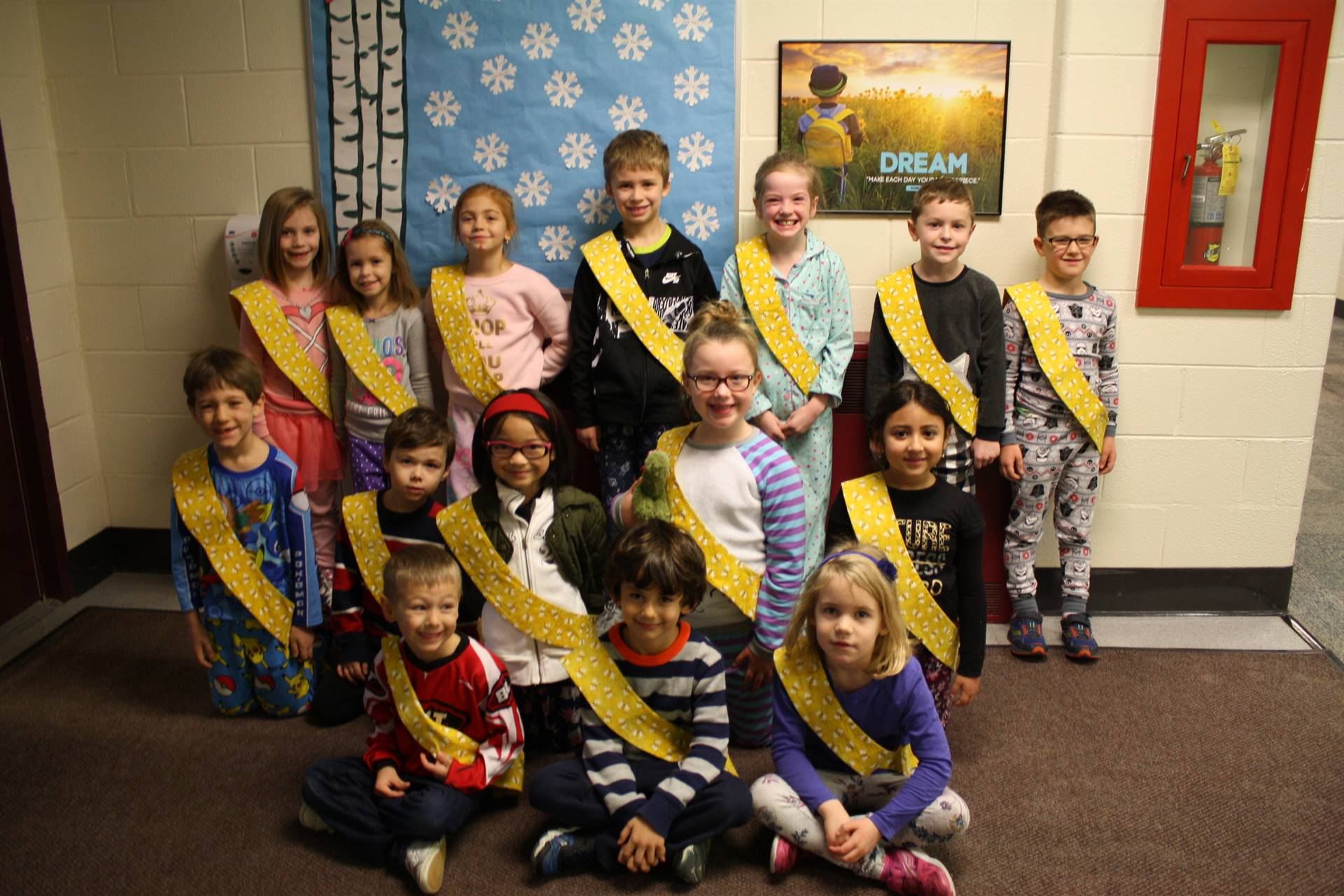 Bee Sash Winners - 12/22/2017