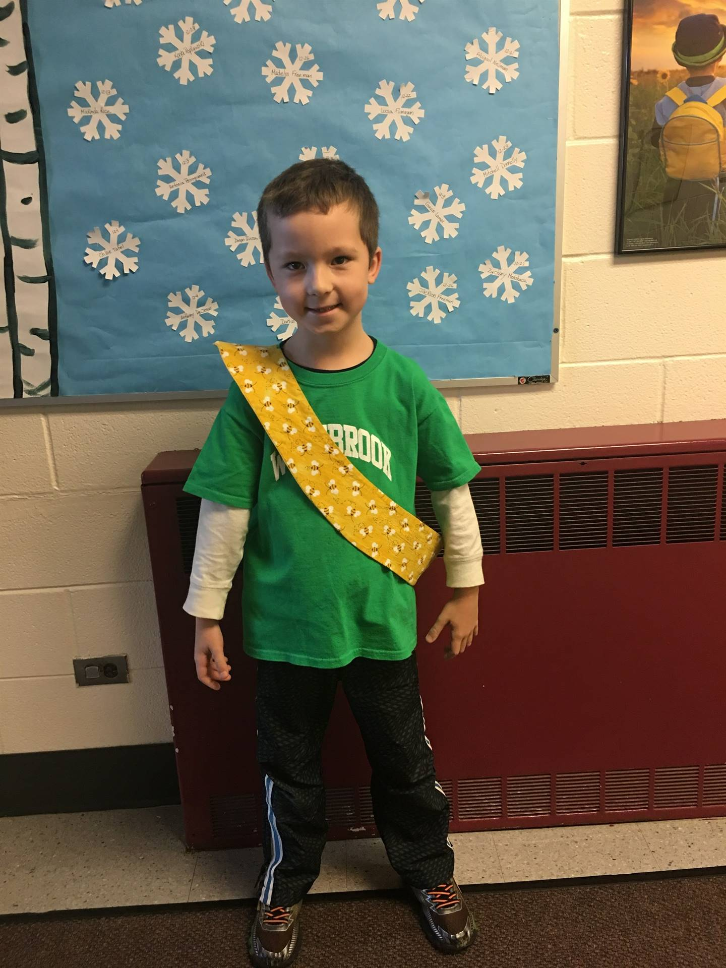 Bee Sash Winners - 12/8/2017