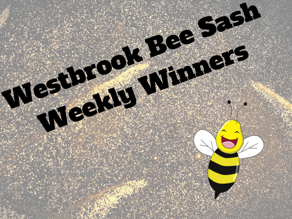 Westbrook Bee Sash Winners