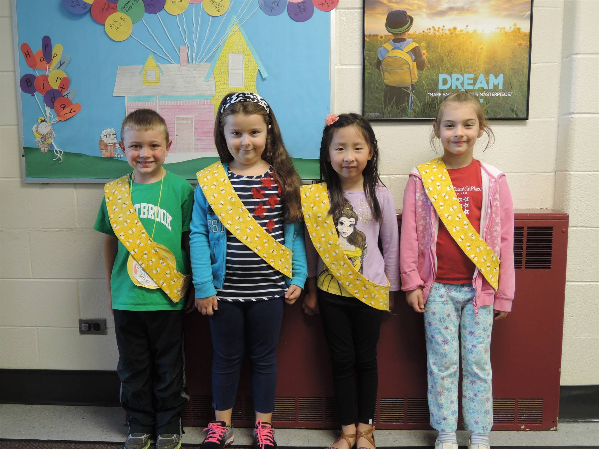 Bee Sash Winners - 9-1-2017