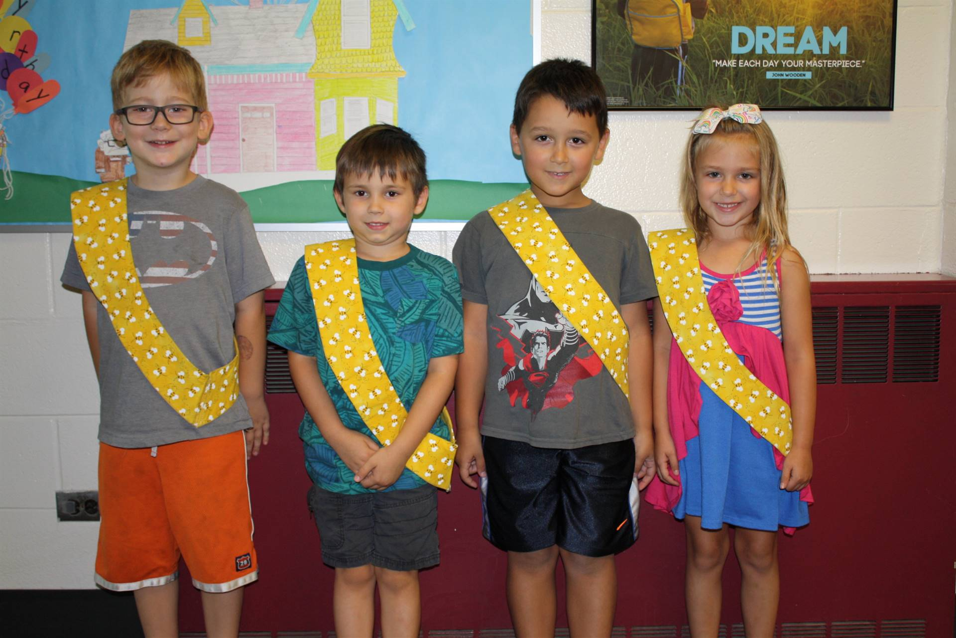 Bee Sash Winners - 9-15-17