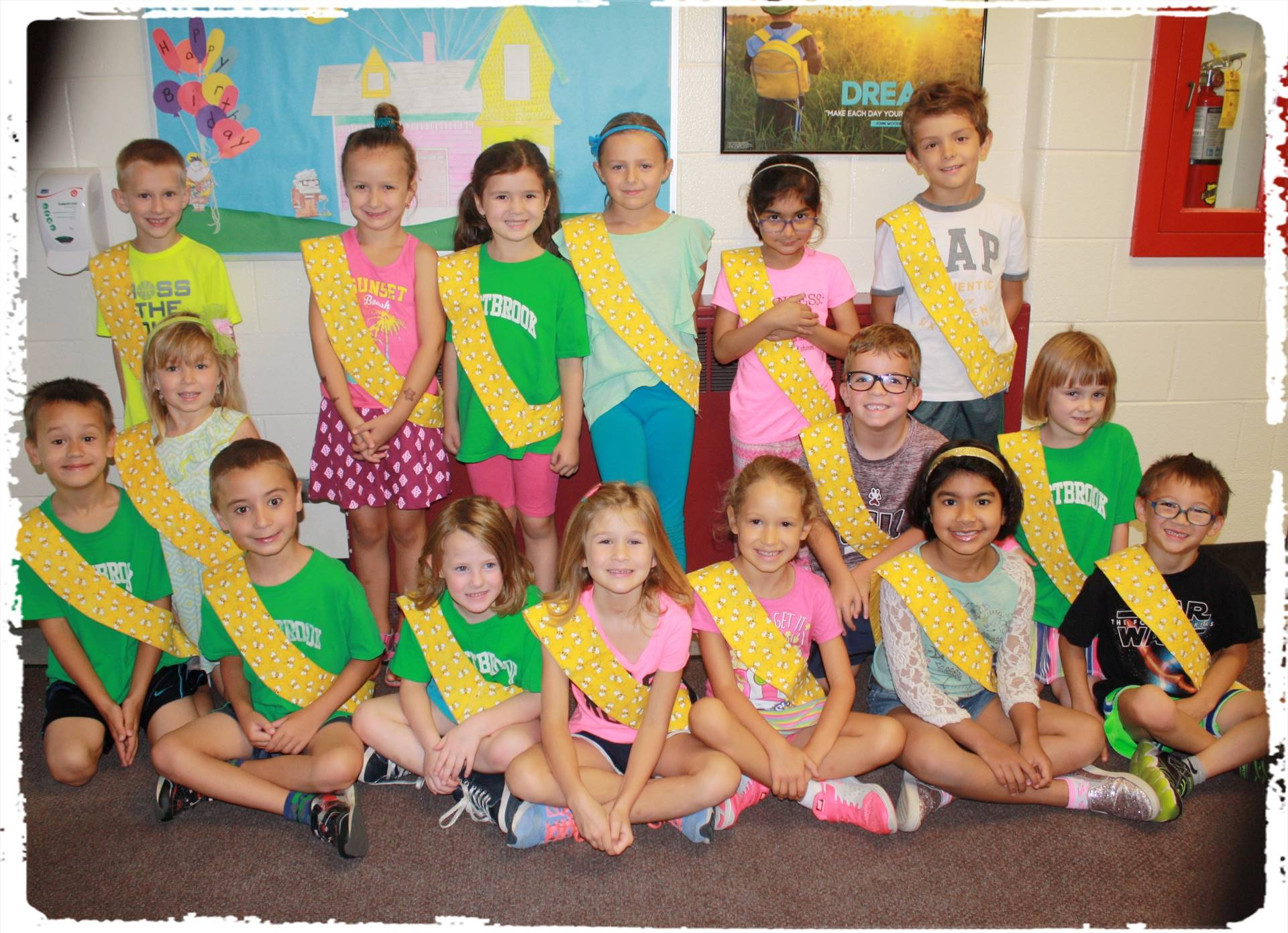 Bee Sash Winners - 9-22-17