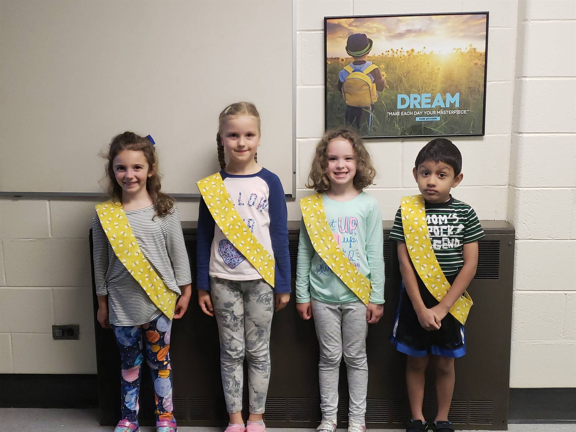 Bee Sash Winners - 9/28/2018