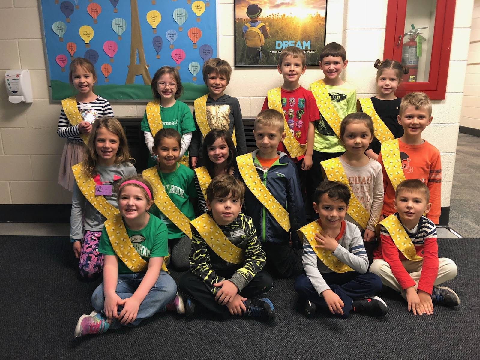 Bee Sash Winners - 10/19/2018