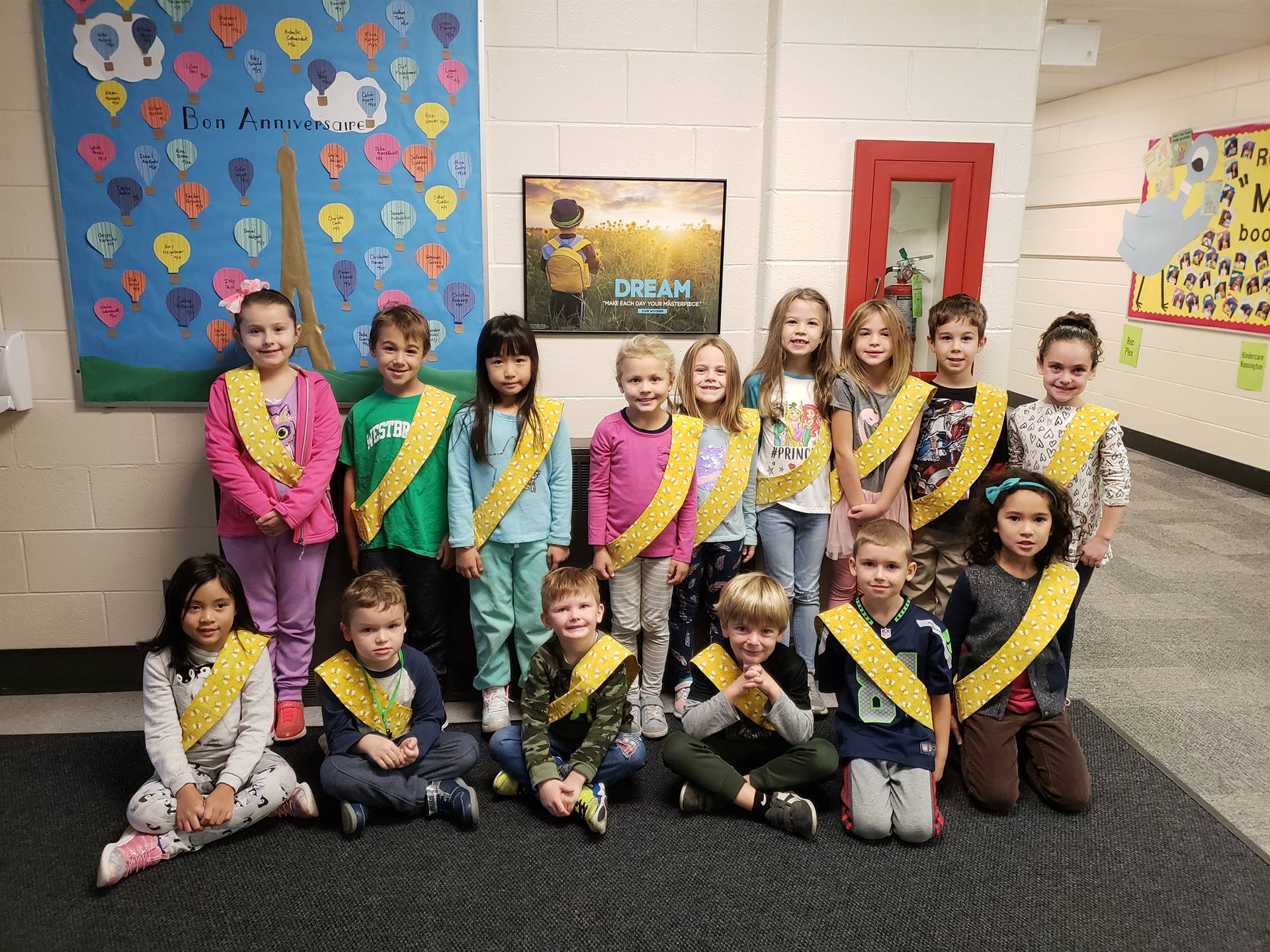 Bee Sash Winners - 10/26/2018