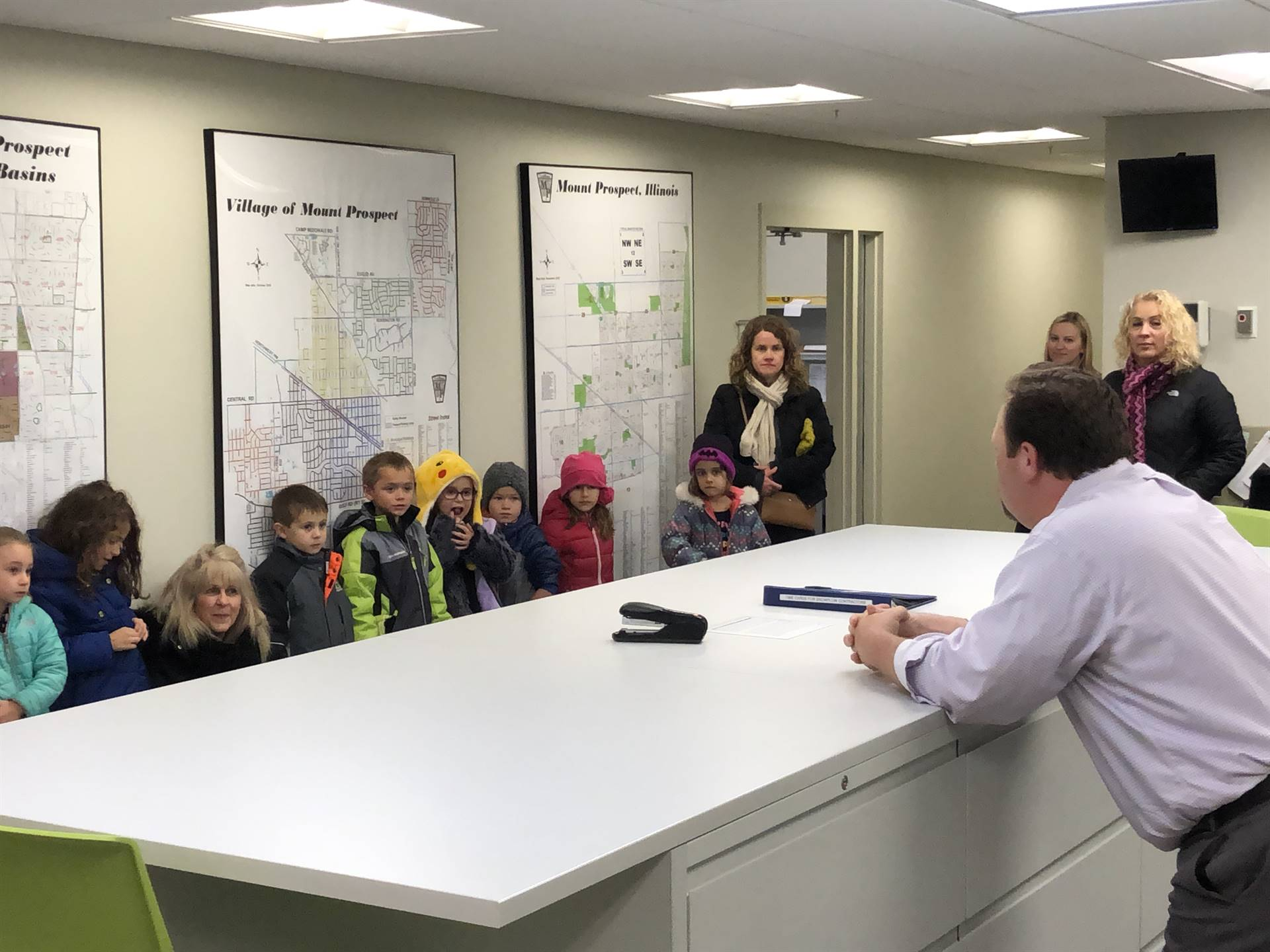 Public Works Visit - 11/12/18