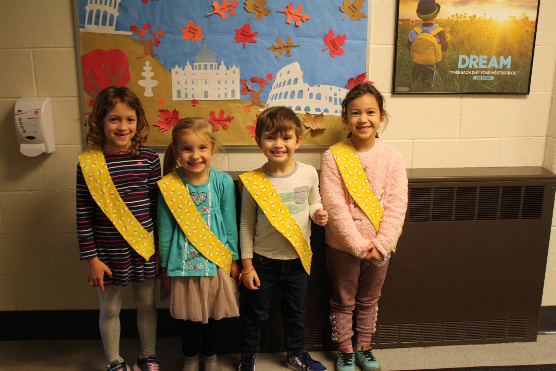 Bee Sash Winners - 11/16/2018