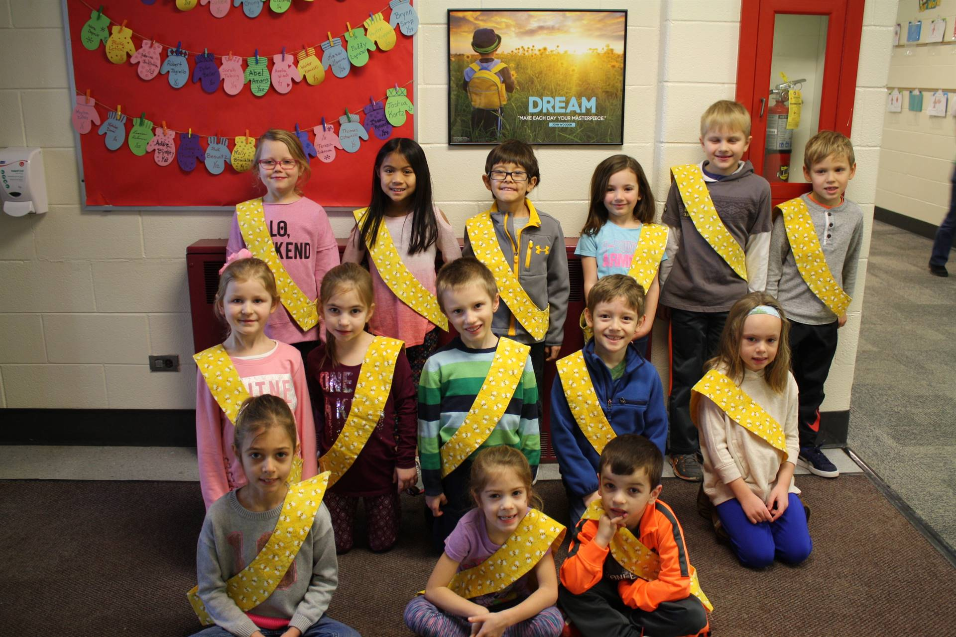 Bee Sash Winners - 1/19/2018