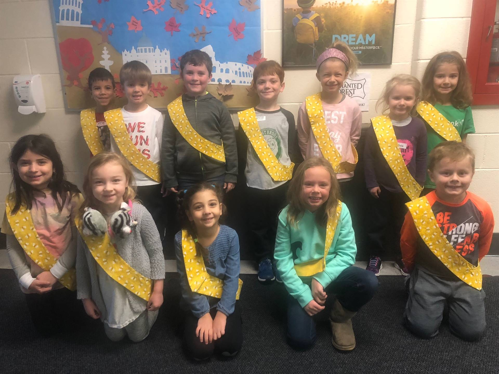 Bee Sash Winners - 11/9/2018