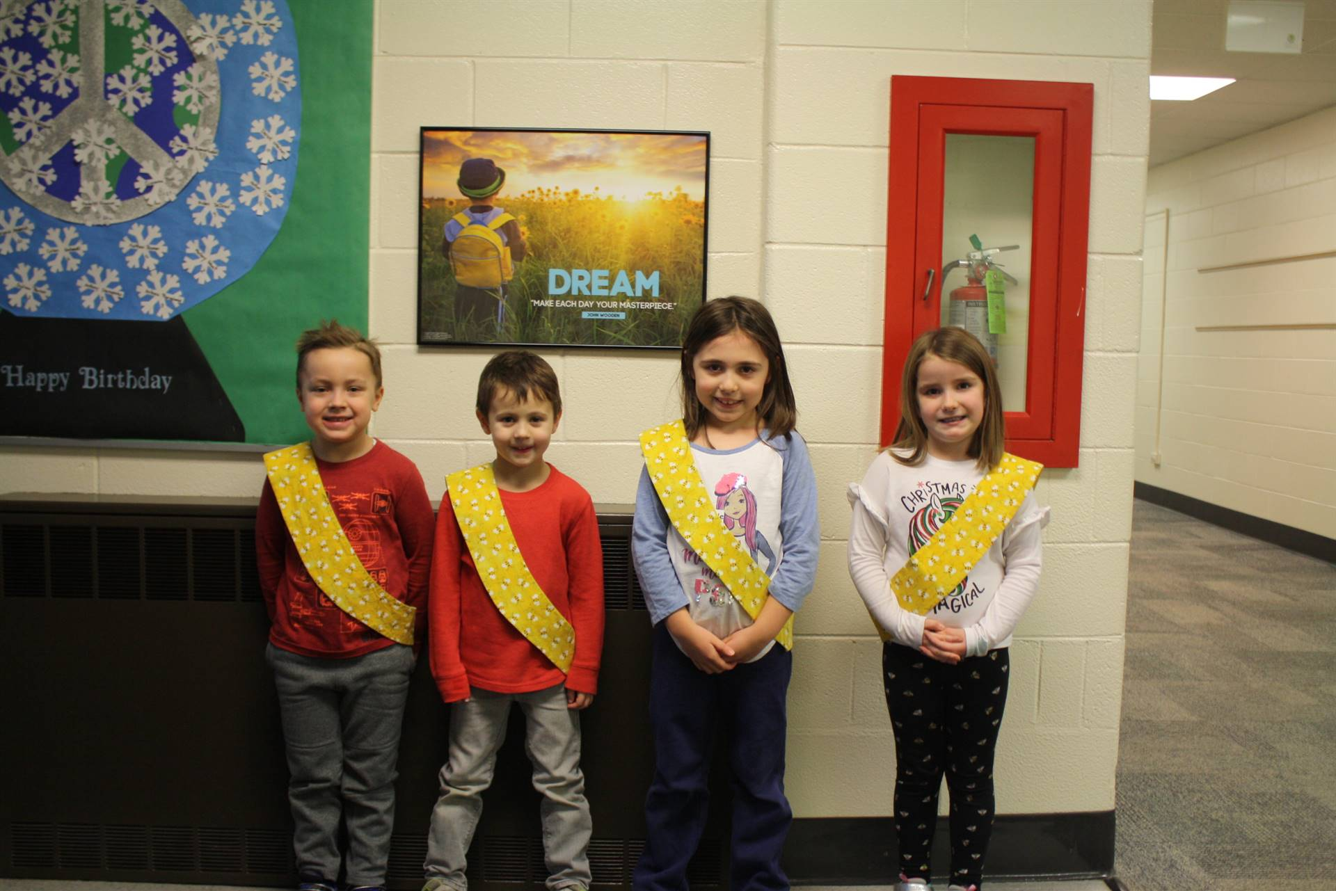 Bee Sash Winners - 12/14/2018