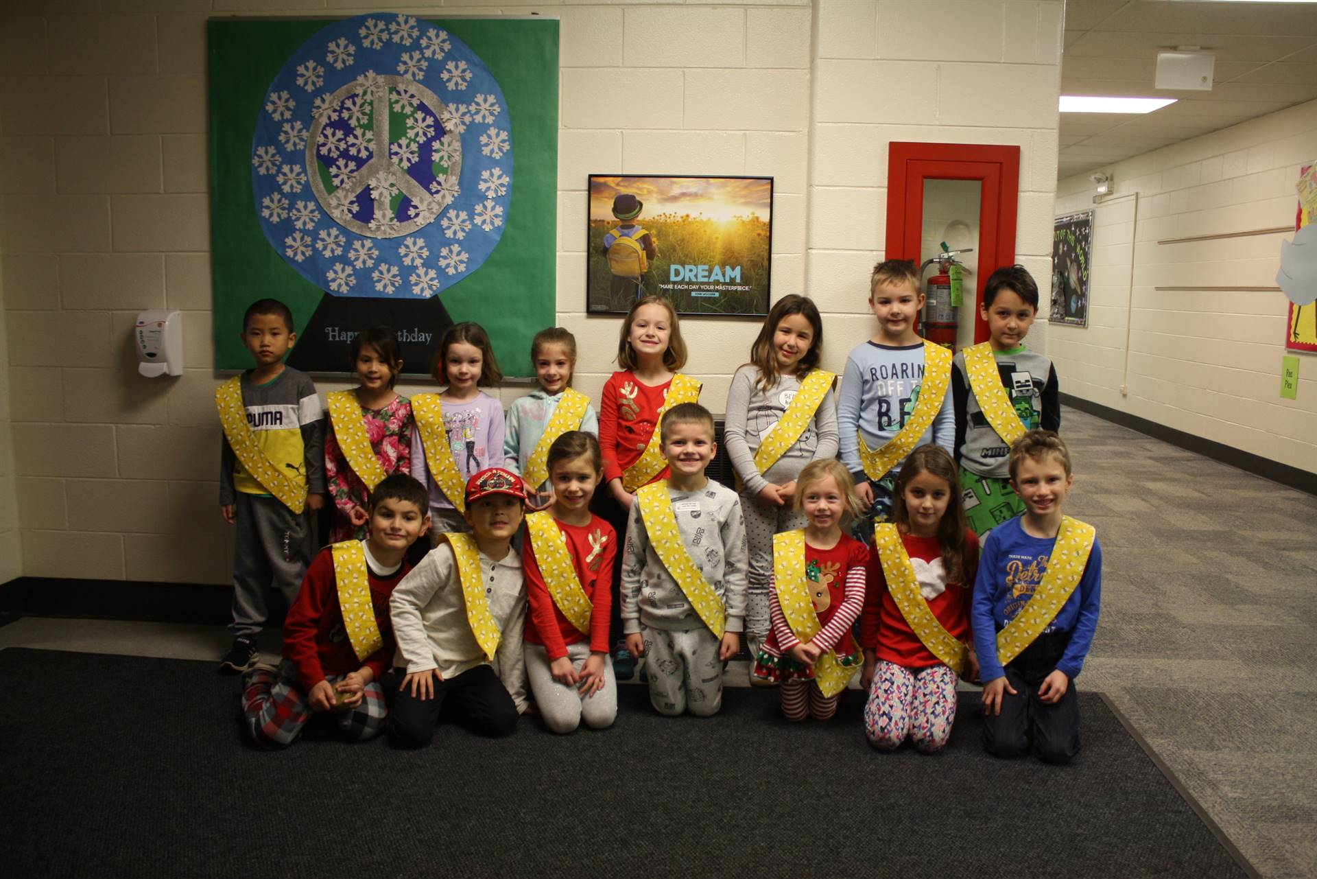 Bee Sash Winners - 12/21/2018
