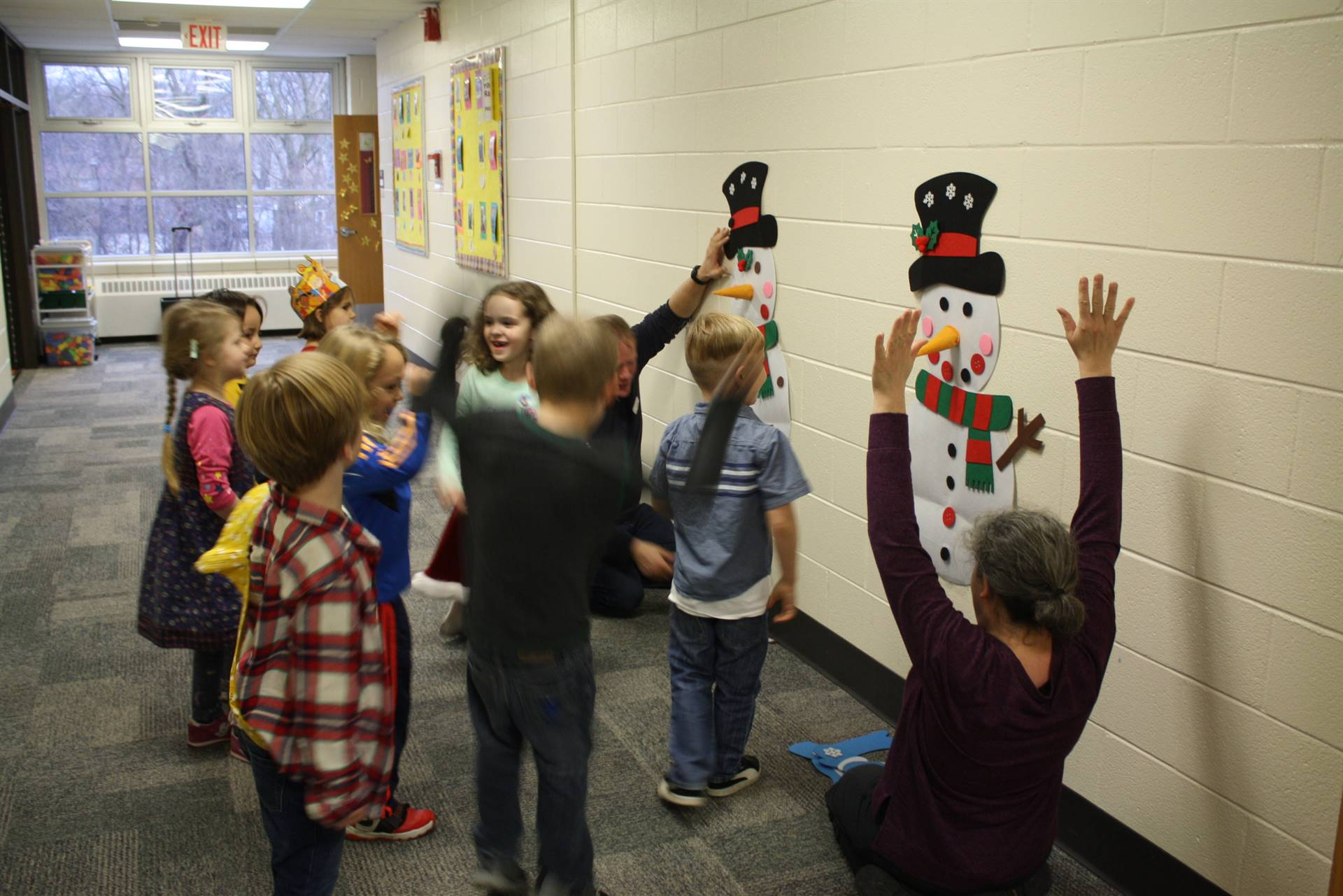 Kindergarten Winter Parties - 12/21/2018