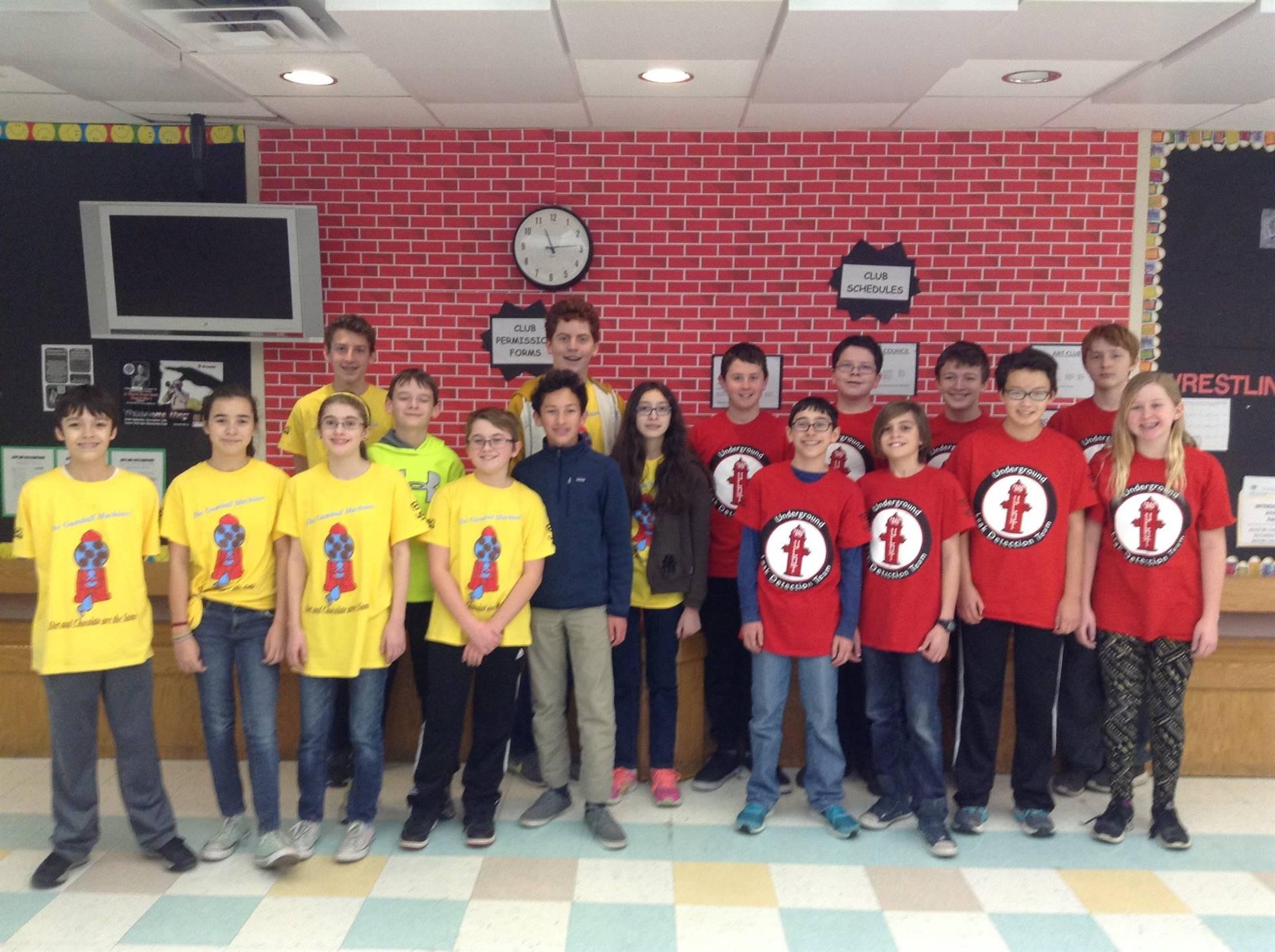 Photo of Lego Robotics Teams