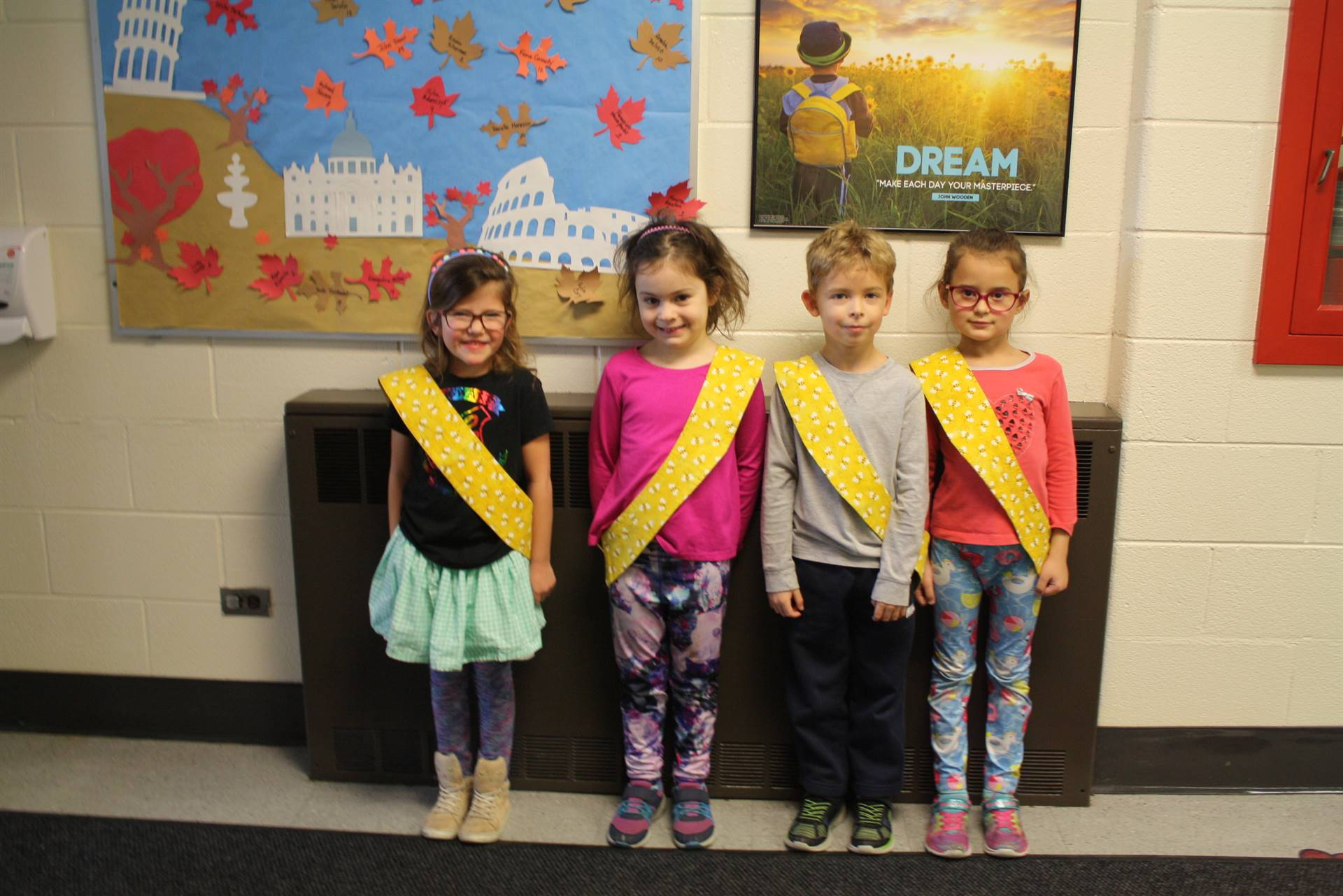 Bee Sash Winners - 11/30/2018
