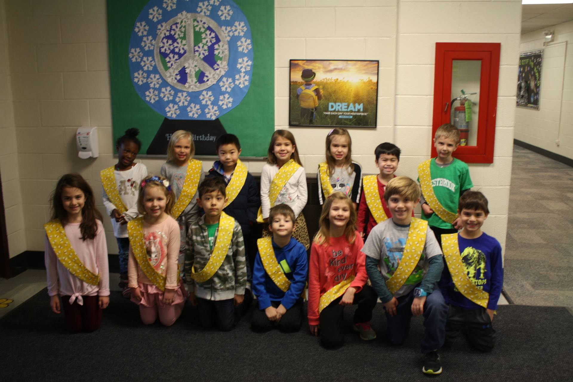Bee Sash Winners - 12/7/2018