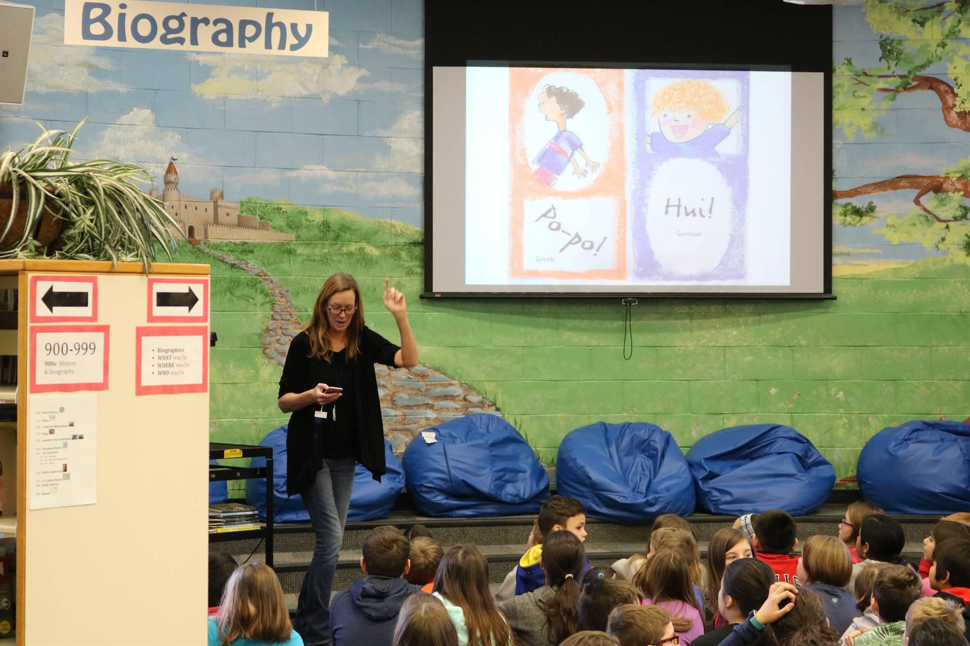 Author Visit - Julia Durango