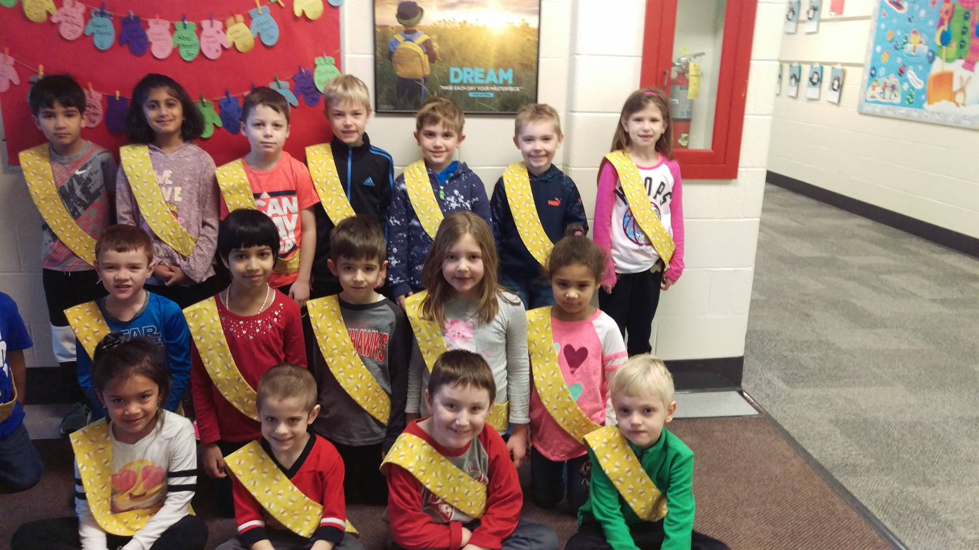 Bee Sash Winners - 1/26/2018