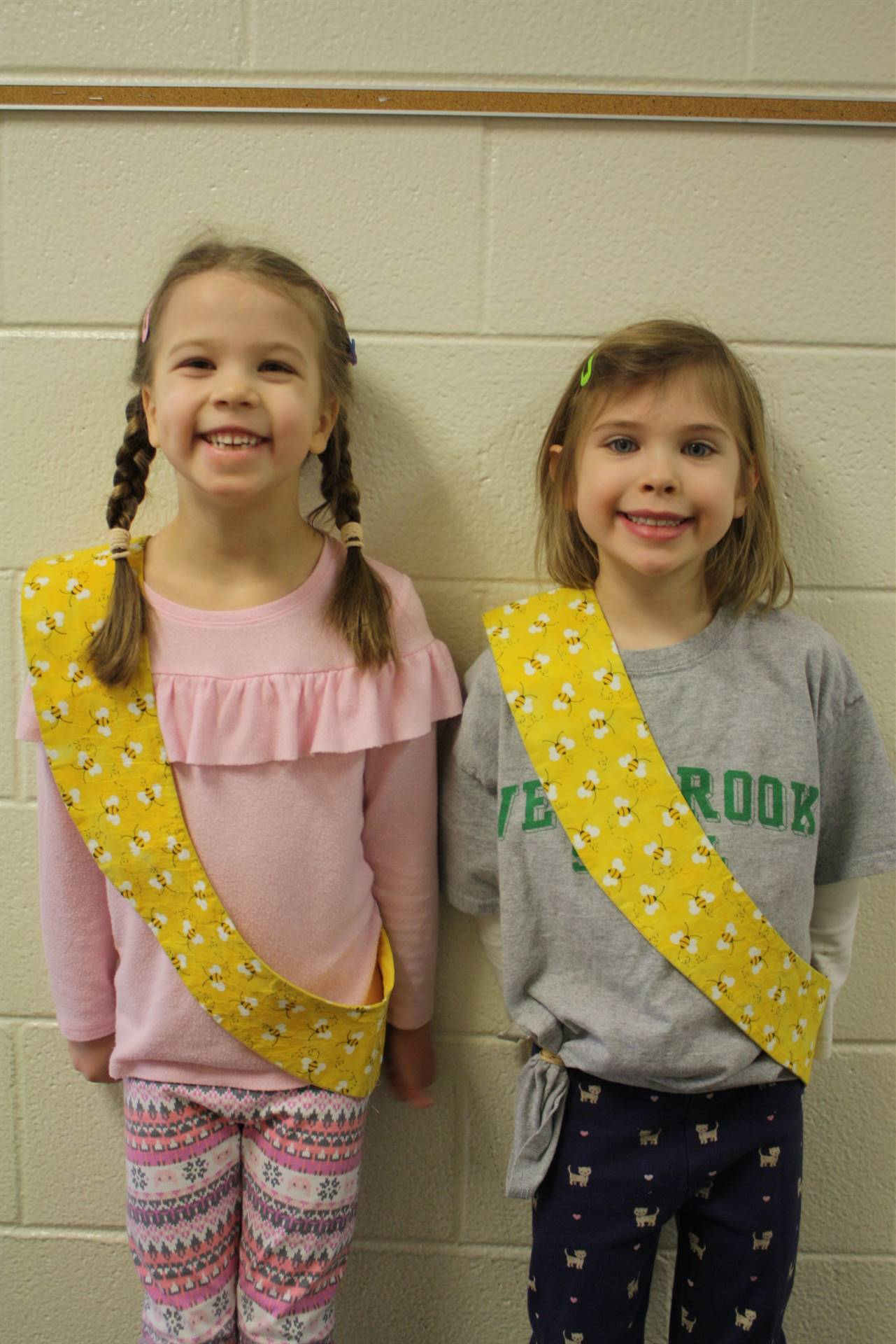 Bee Sash Winners - 2/1/2018