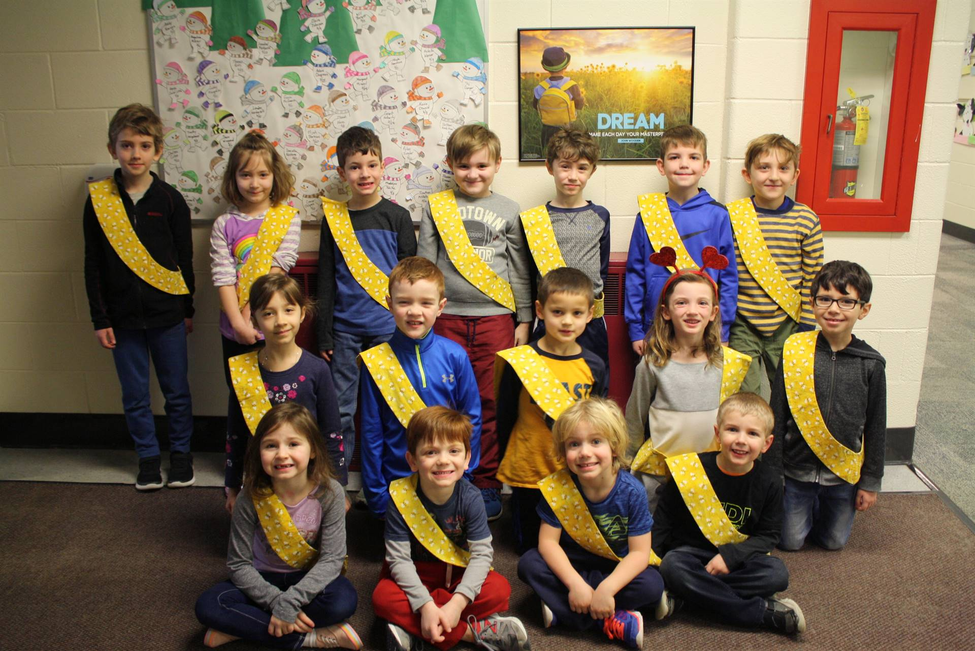 Bee Sash Winners - 2/23/2018