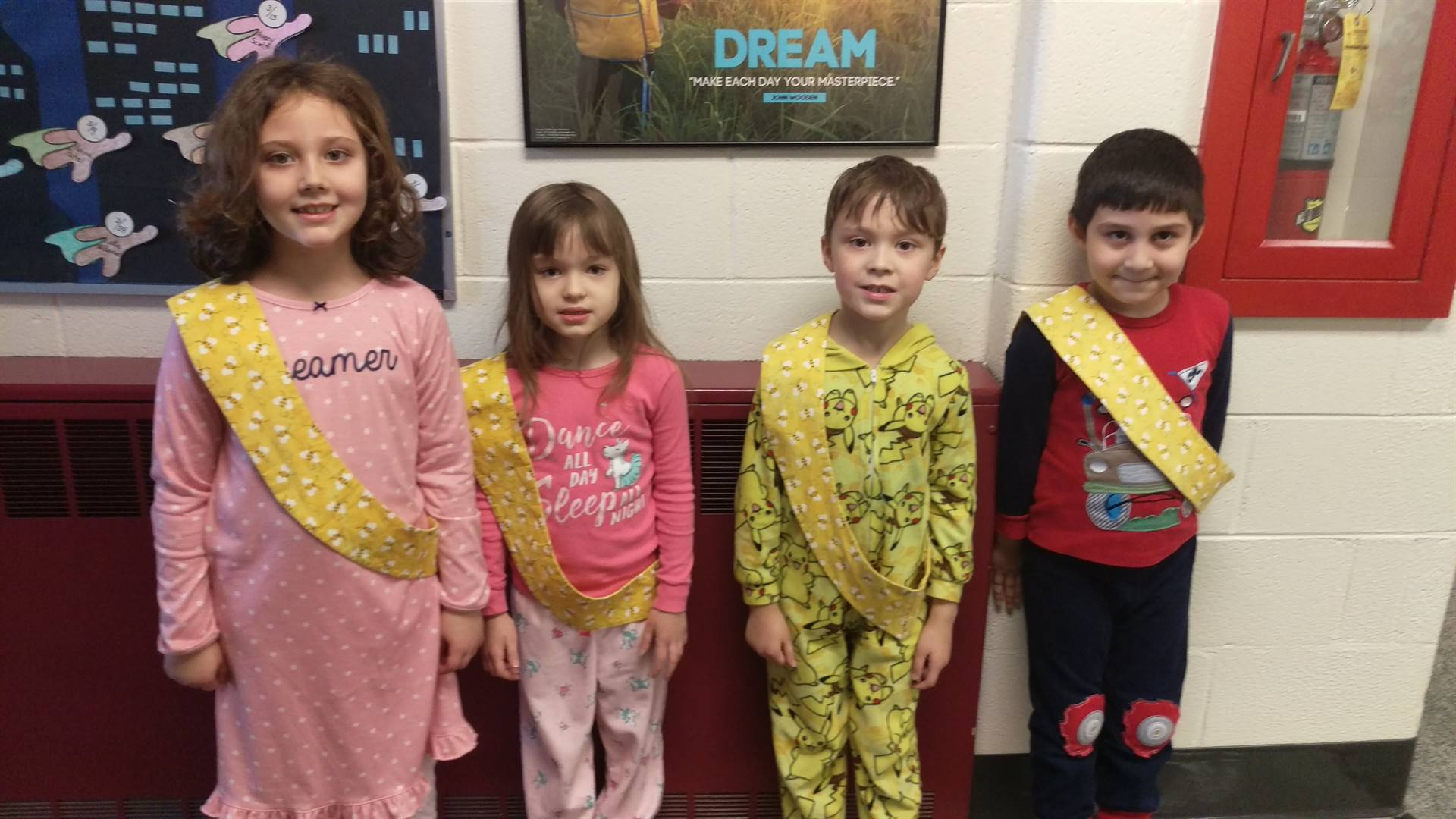 Bee Sash Winners - 3/2/2018