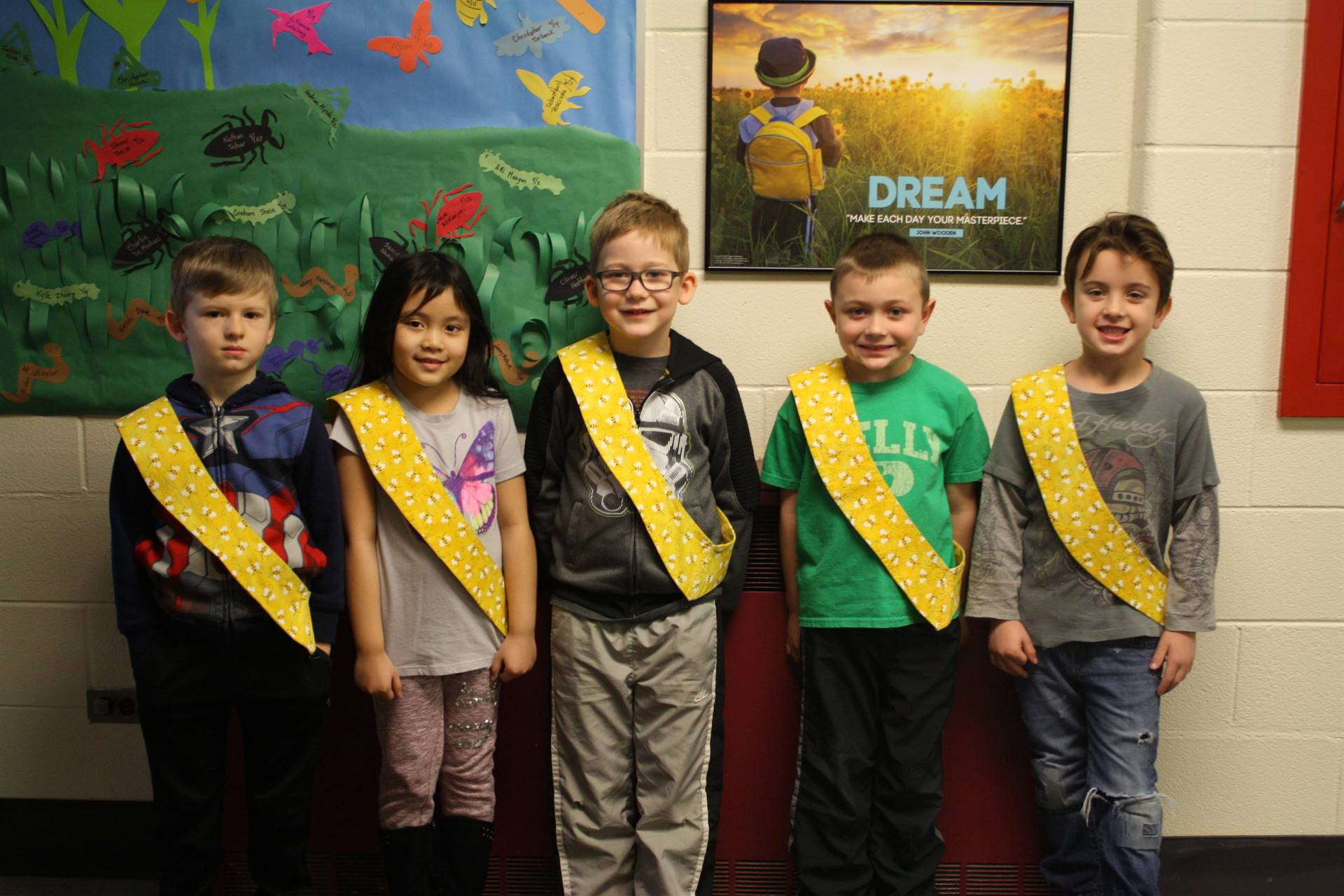 Bee Sash Winners - 4/13/18