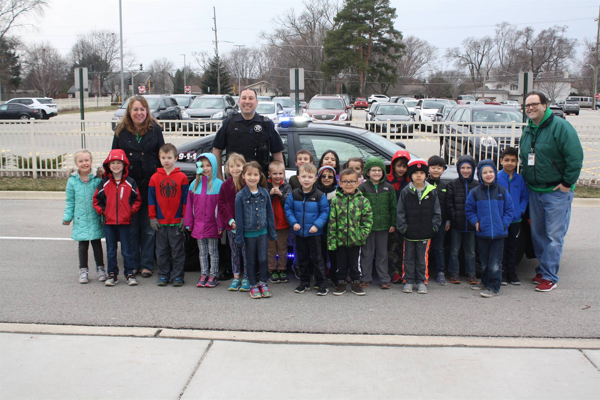 Special Officer Friendly School Ride - April 13 2018