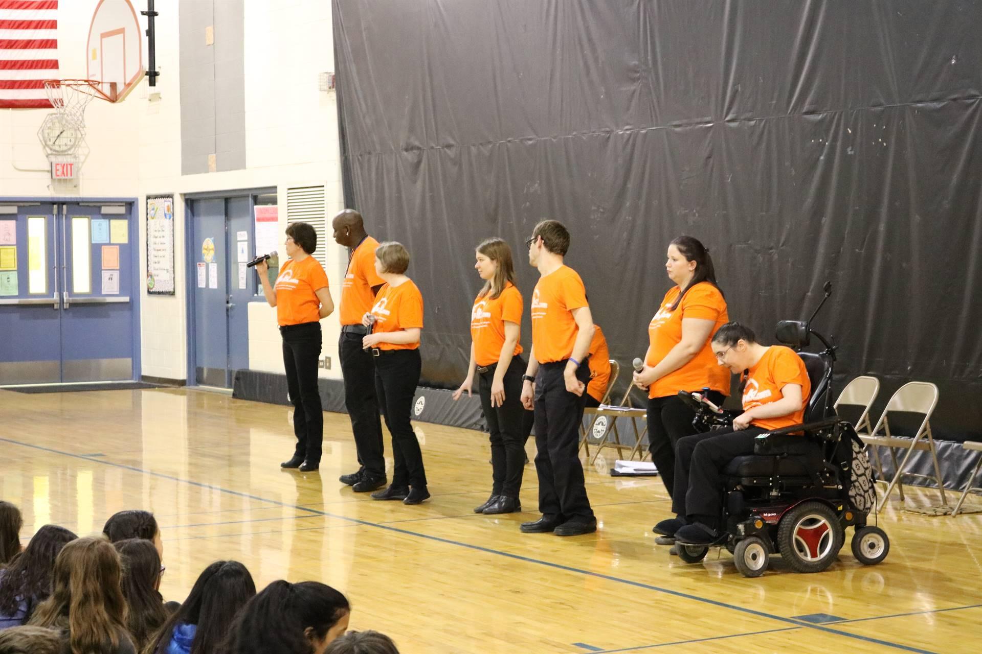 PTO Assembly - JJ's List Disability Awareness Team