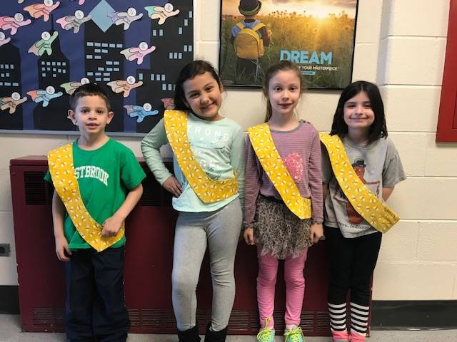 Bee Sash Winners - 3/23/2018