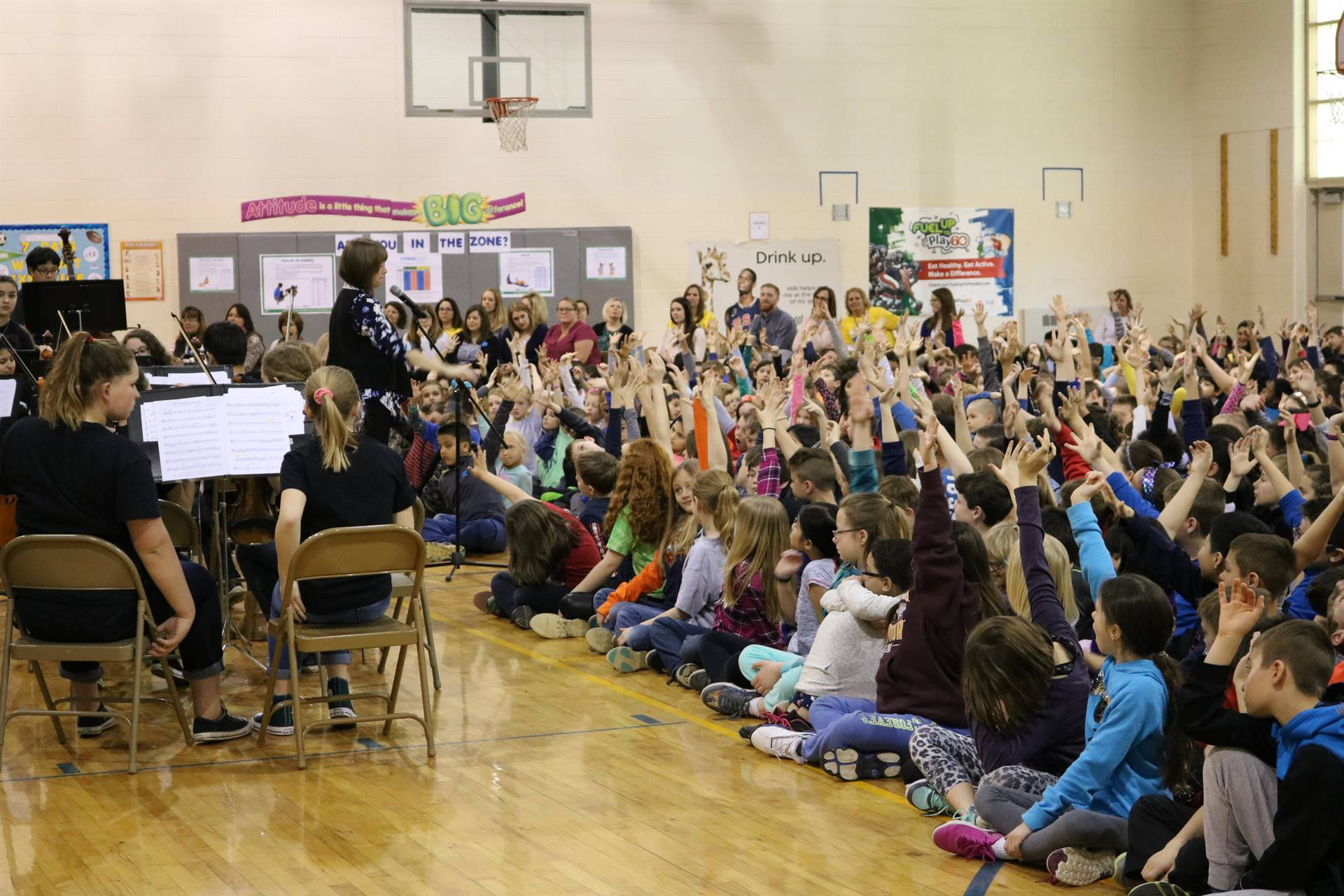 Lincoln Orchestra Assembly