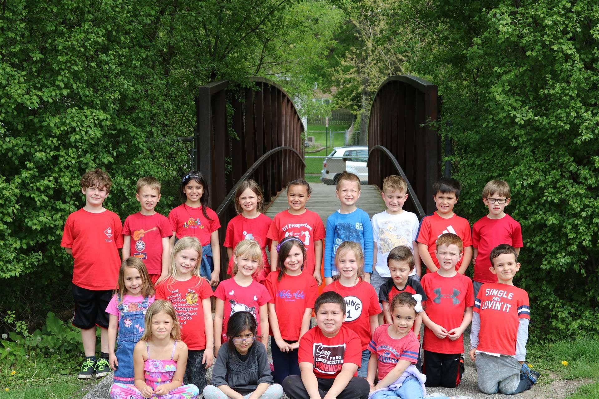 Mrs. Kafader's Class Photo 1st Grade Picnic 5 18 18