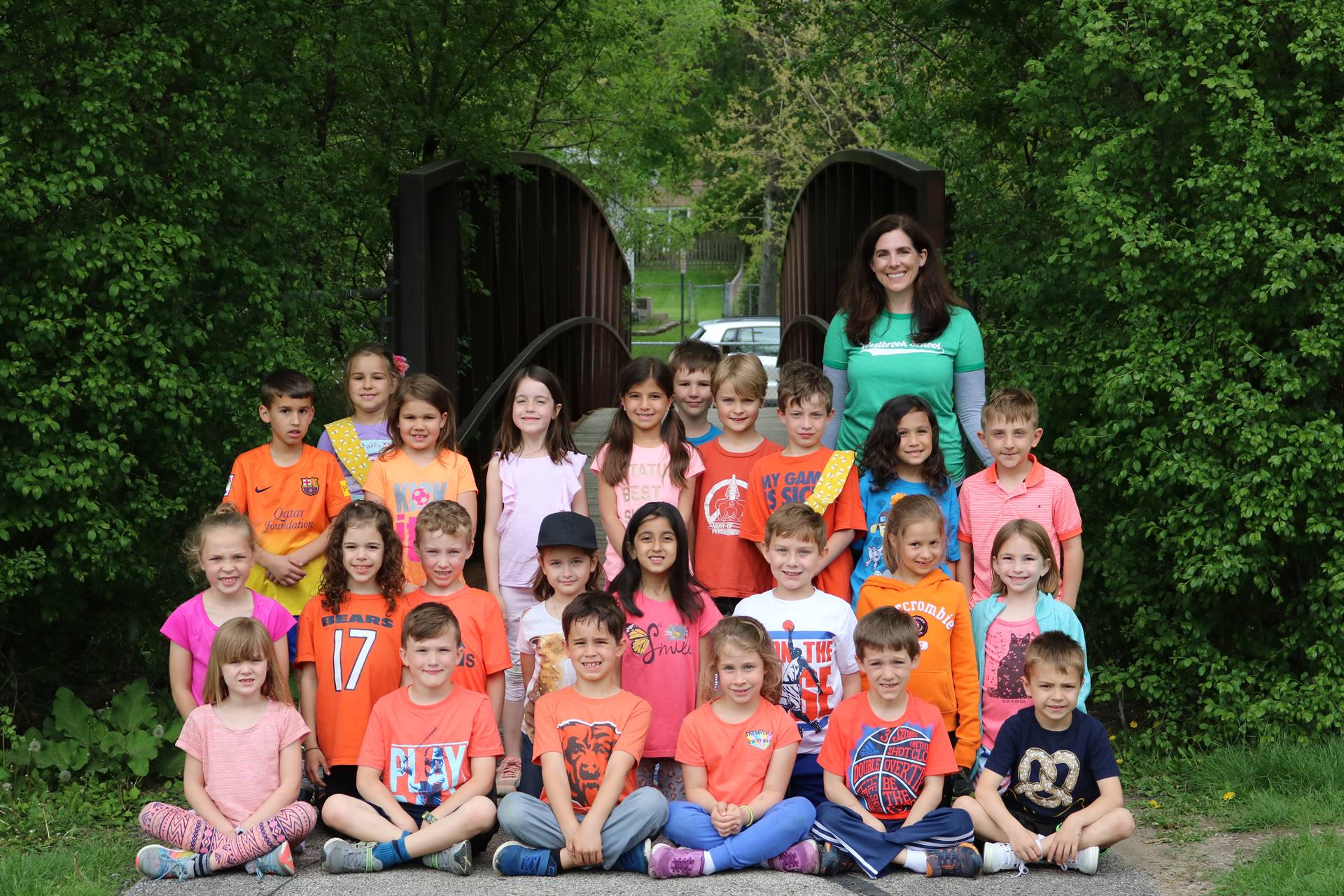 Mrs. Roy's Class Photo 1st Grade Picnic 5 18 18
