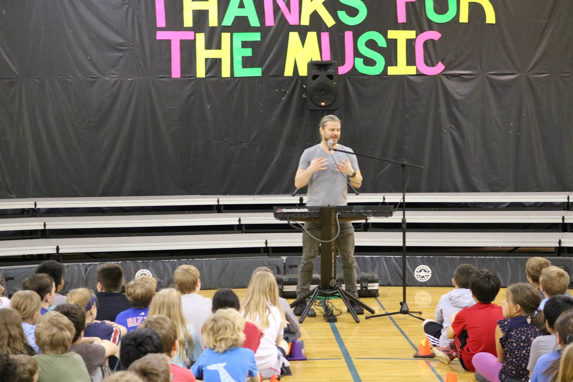 Assembly - Music Technology with Brent Daniels