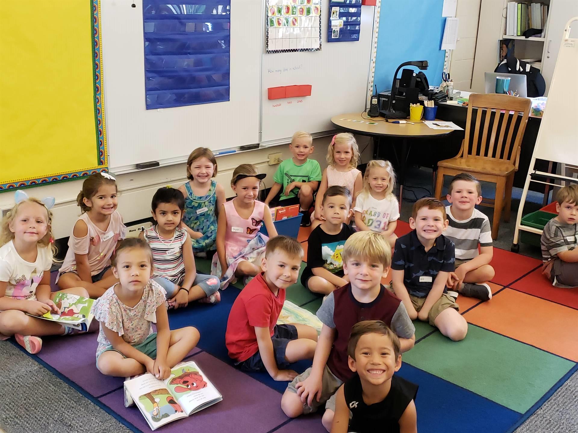 Kindergarten First Day of School