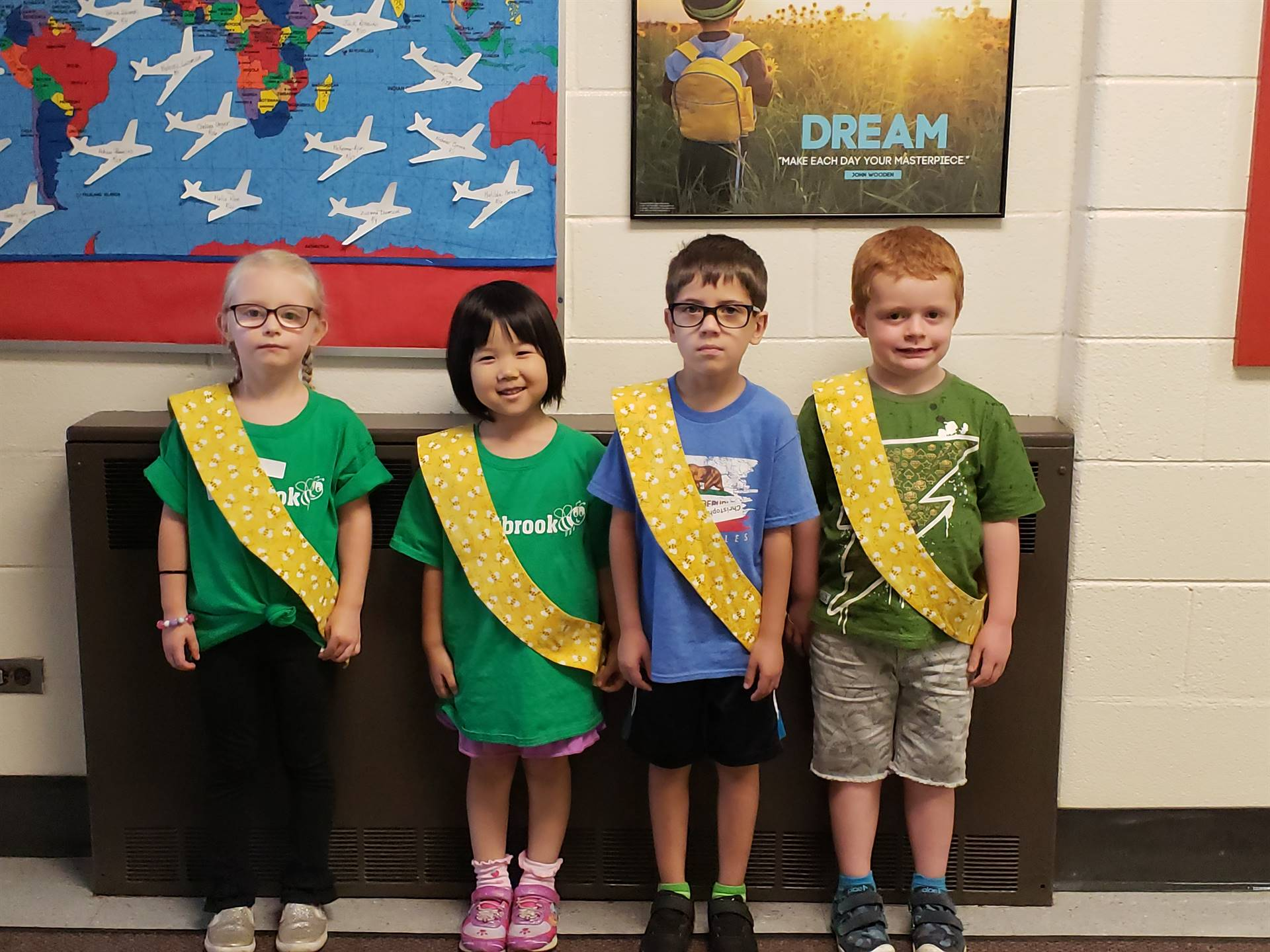 Bee Sash Winners - 8/24/2018