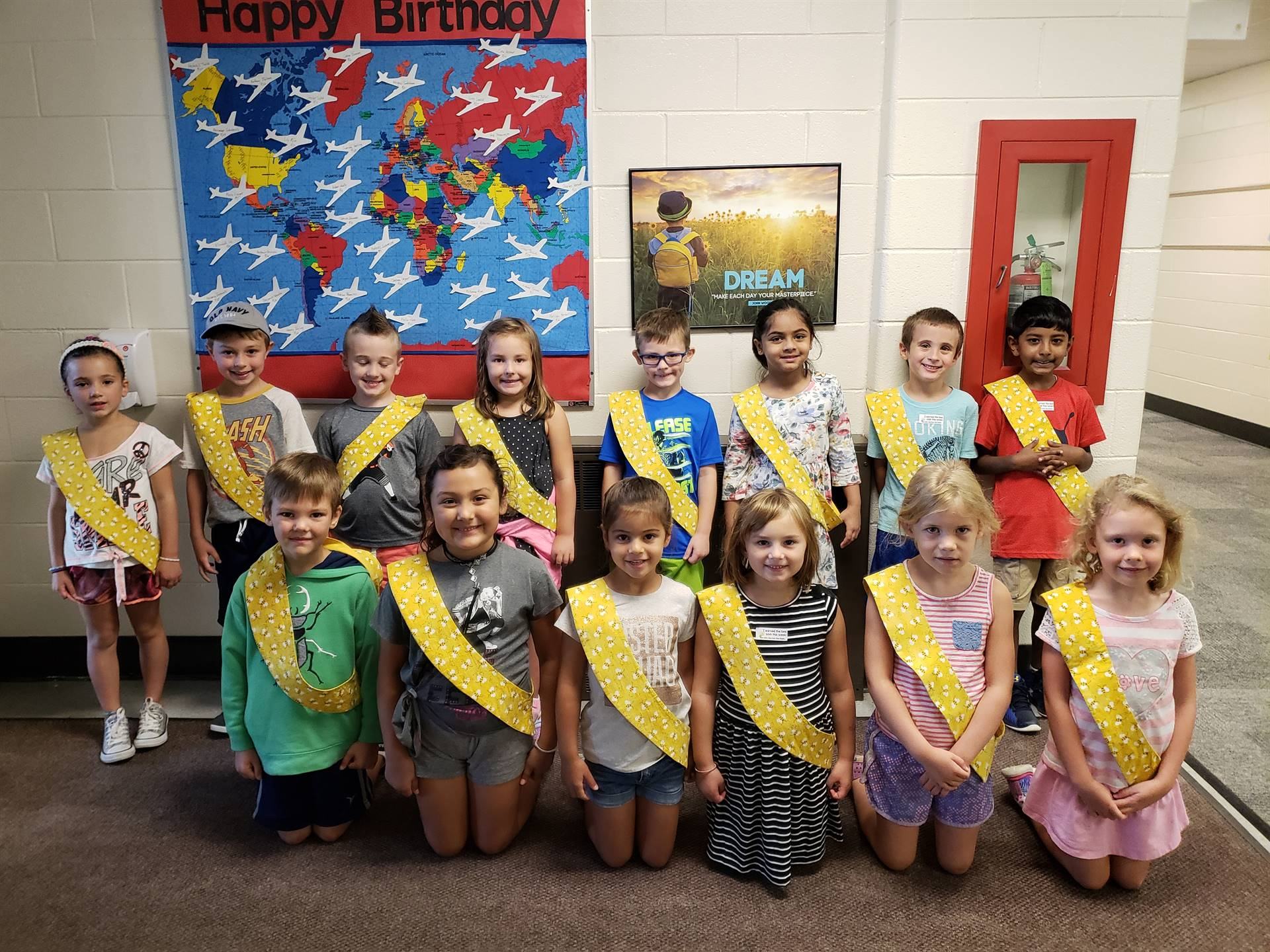 Bee Sash Winners - 8/31/2018