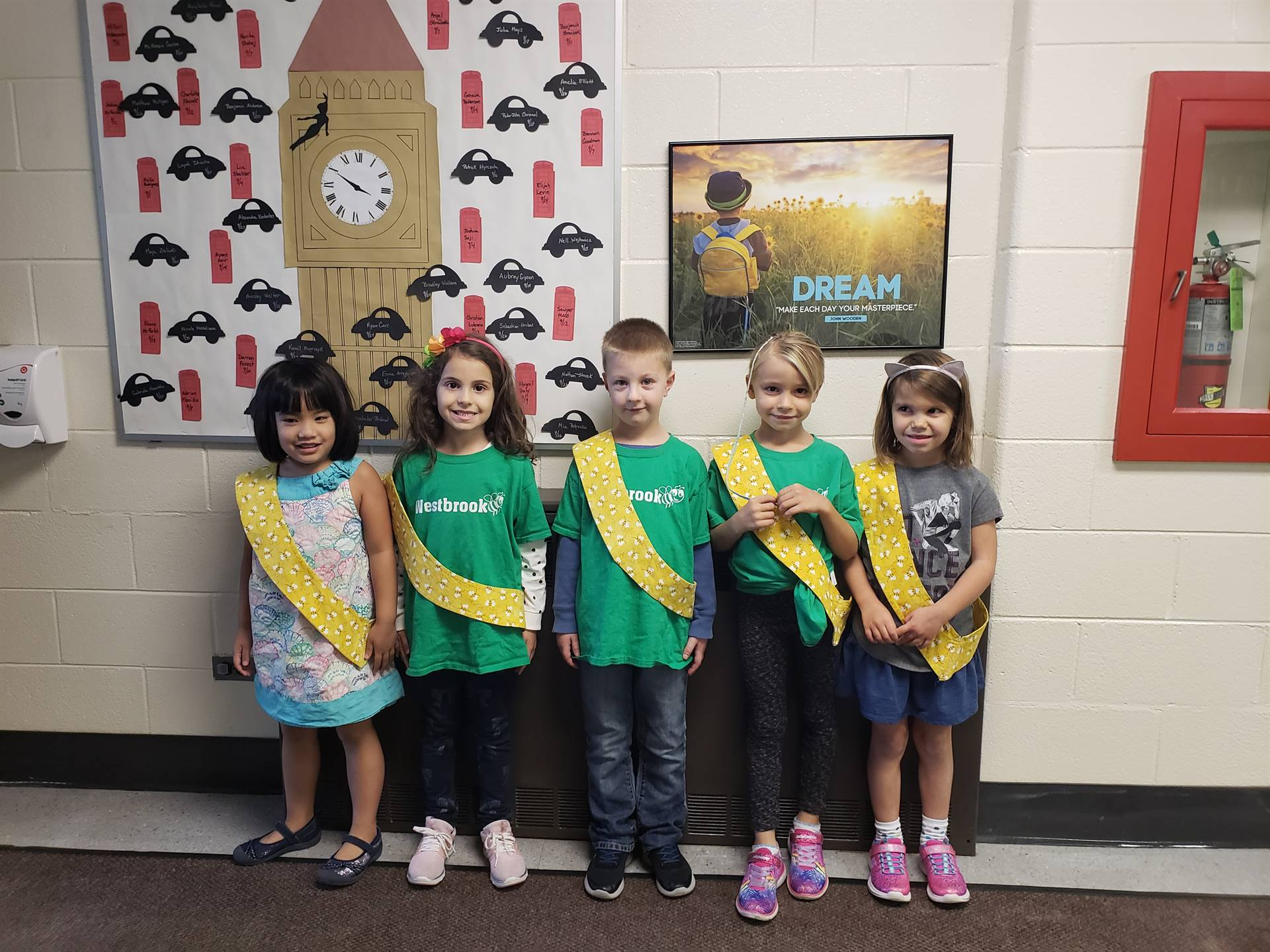 Bee Sash Winners - 9/7/2018