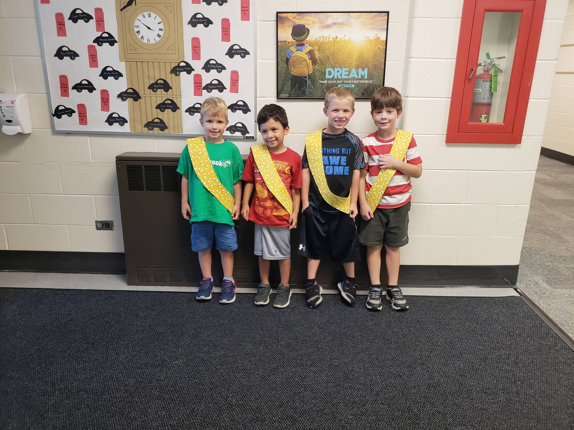 Bee Sash Winners - 9/14/2018