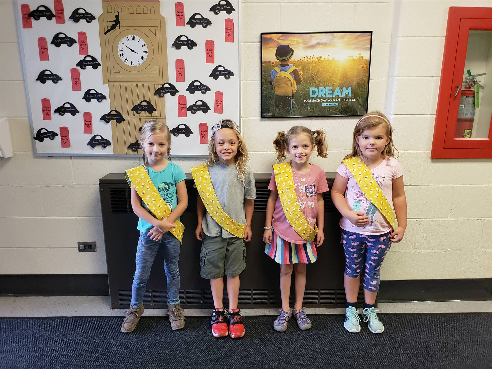 Bee Sash Winners - 9/21/2018