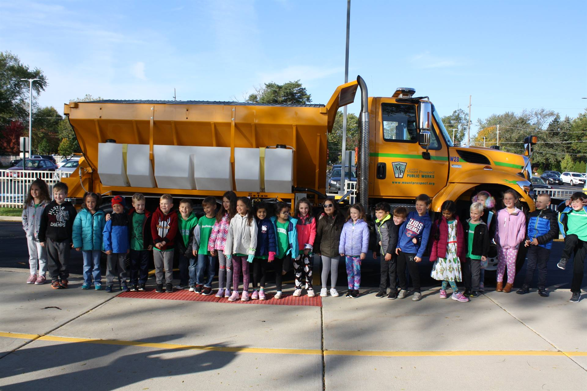Public Works Ride to School