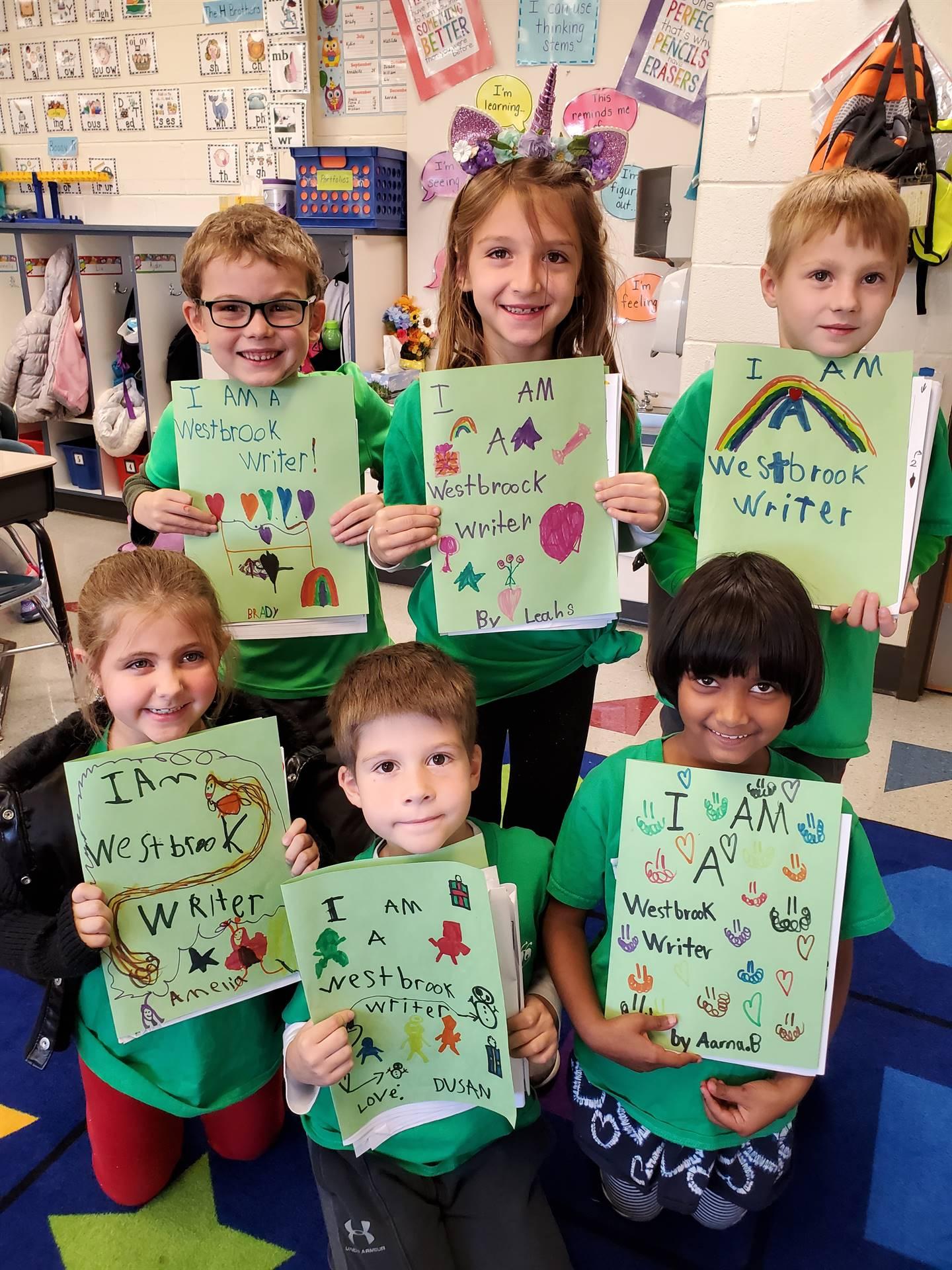 1st Grade Writer's Parade